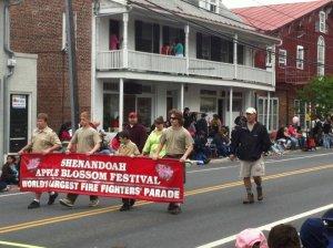 Friday's parade.