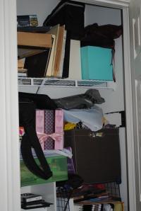 Closet of shame.