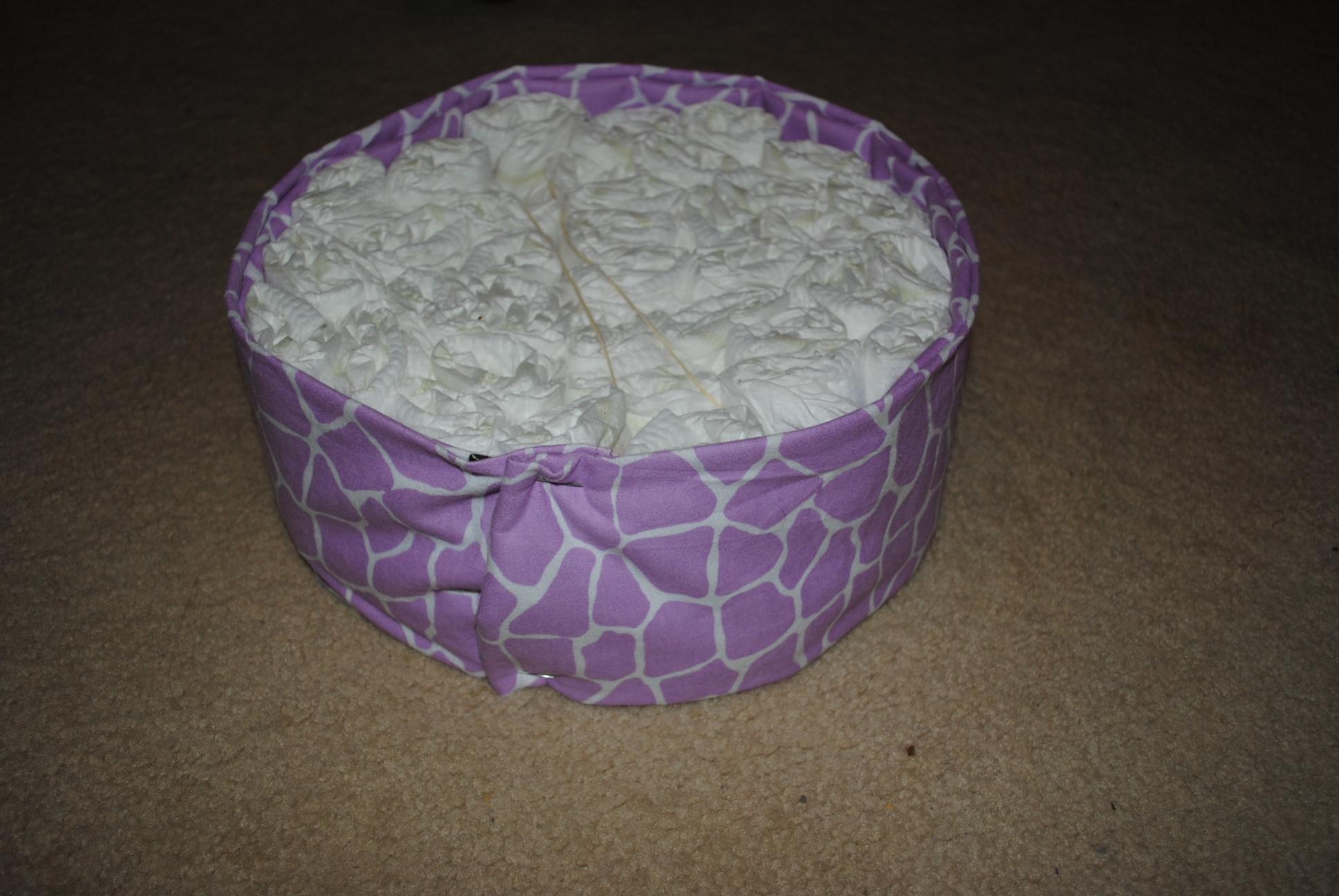 Diy Diaper Cake Baybee Sugar
