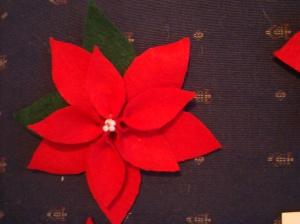 Finished flower.