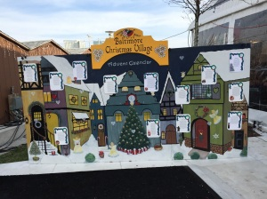 Christmas Village in Baltimore