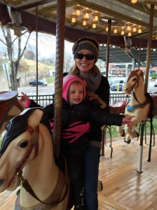 She loved the Carousel.