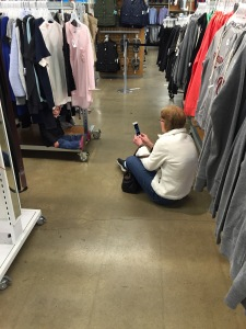 Shopping with Nana