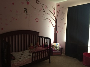 Big girl room.